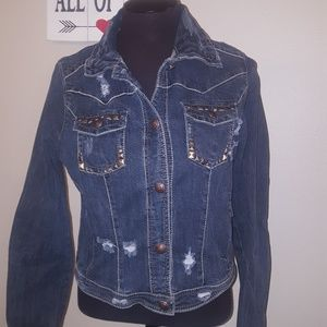 Adorable jean jacket from Vanity